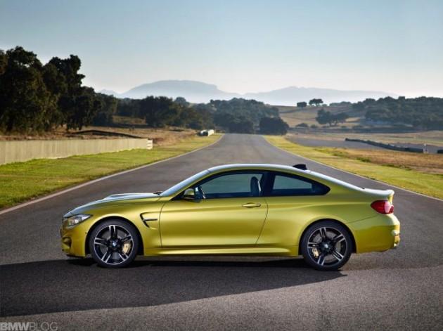 2014 BMW M4-side
