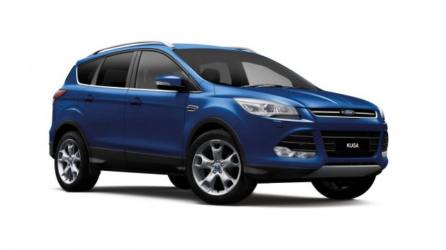 2014 Ford Kuga Deep Impact Blue