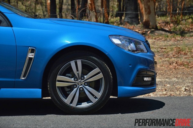 2014 Holden Commodore SV6-18in wheels