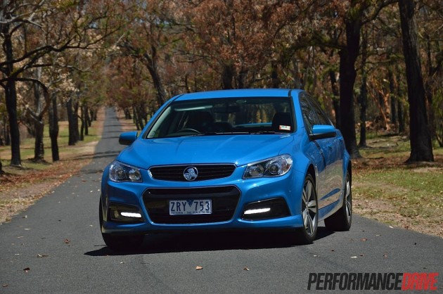 2014 Holden Commodore SV6-Perfect Blue