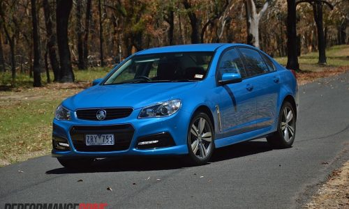 2014 Holden VF Commodore SV6 review (video)