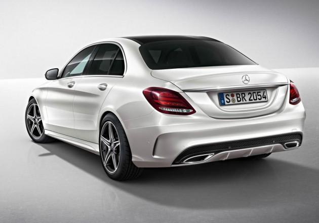 2014 Mercedes-Benz C-Class AMG Line-rear
