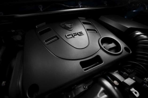2014 Proton Preve GXR CFE turbo engine