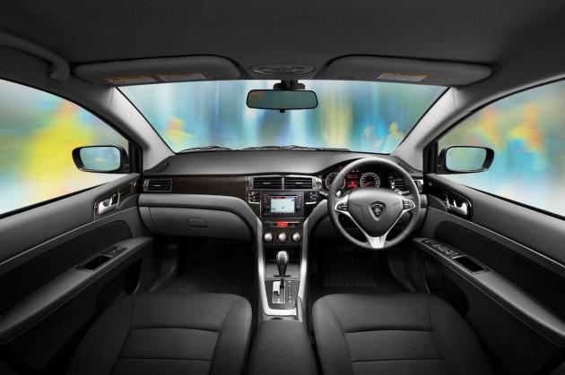 2014 Proton Preve GXR interior