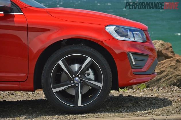2014 Volvo XC60 T6 R-Design front brakes