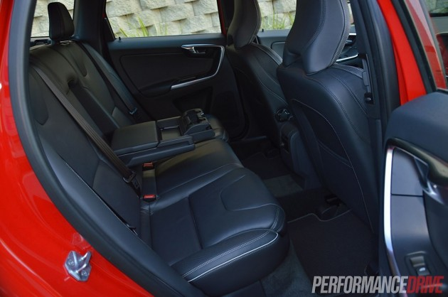 2014 Volvo XC60 T6 R-Design rear seats