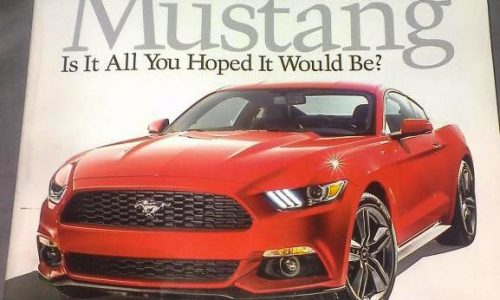 2015 Ford Mustang revealed? New teaser released (video)
