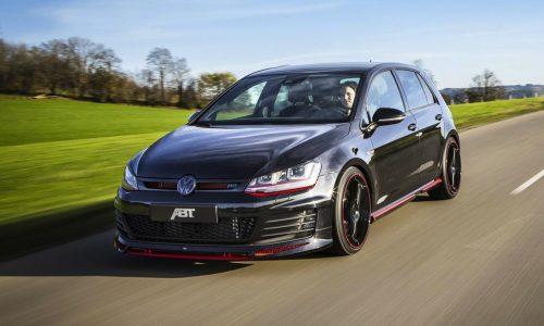 ABT Volkswagen Golf GTI Mk7 'Dark Edition' revealed