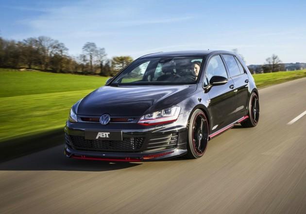 ABT Volkswagen Golf GTI Dark Edition-front