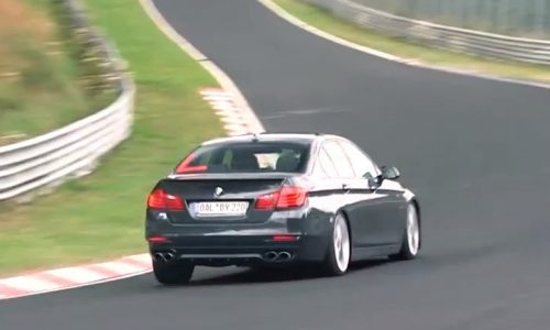 Video: 2014 Alpina B5 S spotted on the Nurburgring