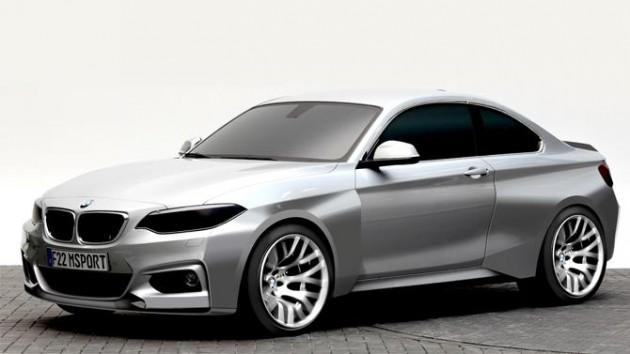 BMW M235i Racing-design