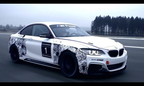 BMW M235i Racing previewed, track-only special (video)