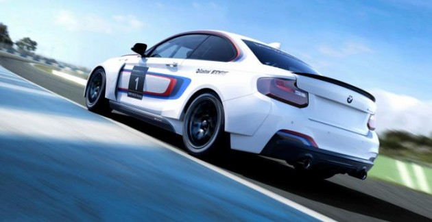 BMW M235i Racing rear