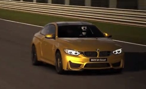 BMW M4 now available in Gran Turismo 6