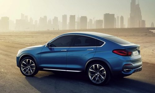 BMW X4 arriving in 2014, along with new X3 and X6