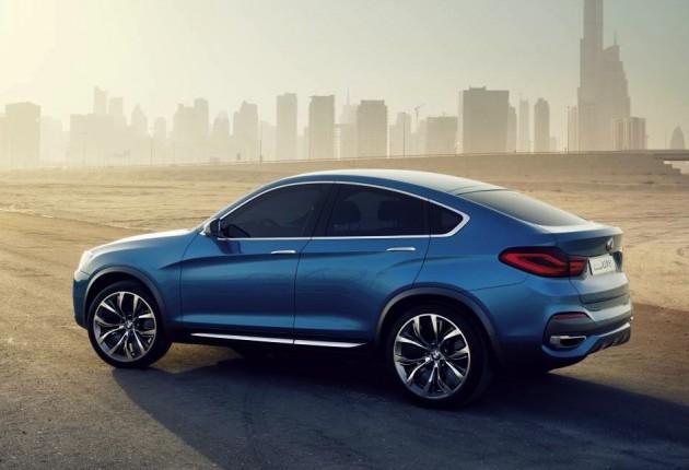 BMW X4 concept-rear