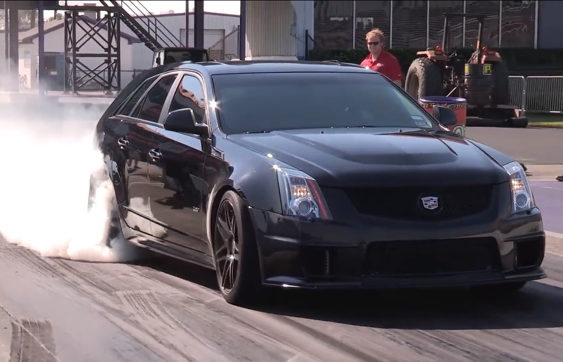 Cts V Wagon For Sale >> Cadillac CTS-V Sport Wagon does a 10-second pass