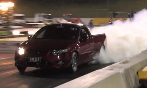 'GMKILR' Ford FG Falcon XR6 Turbo runs 8.75 seconds