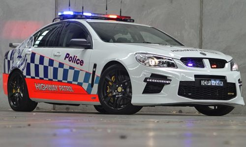 HSV GTS police car announced, Australia's most powerful