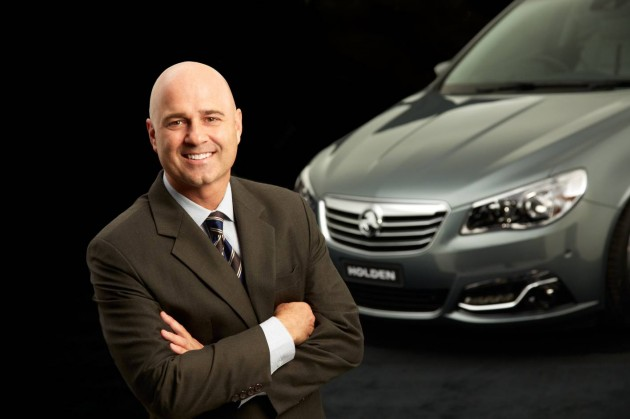 Holden CEO Mike Devereux
