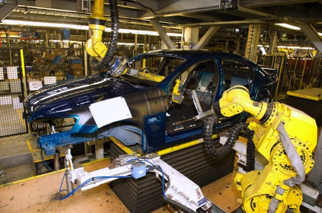 Holden Commodore manufacturing