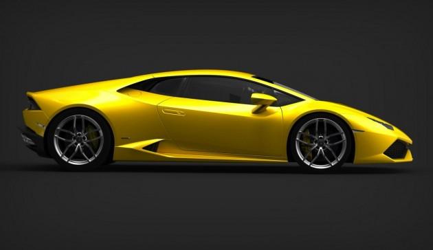 Lamborghini Huracan side