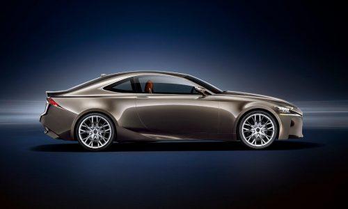 Lexus RC F confirmed for Detroit debut, 343kW V8