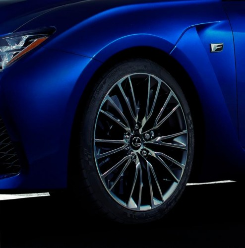 Lexus RC F teaser maybe