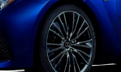 Lexus RC F performance coupe previewed?