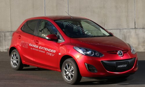 Mazda2 RE Range Extender previews possible rotary revival