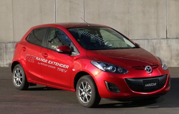 Mazda2 RE Range Extender-front