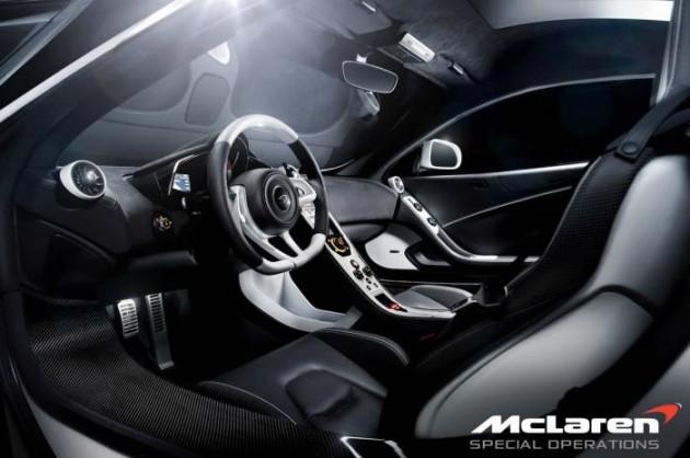 McLaren 12C Special Operations Concept interior