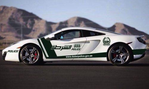 McLaren 12C police car joins Dubai force