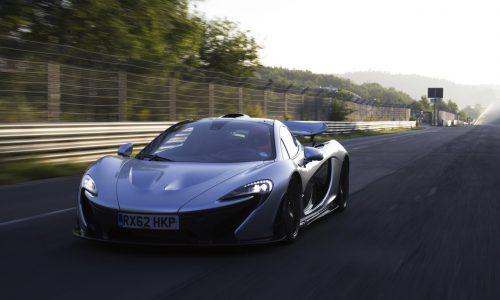 McLaren working on wiperless windscreen technology