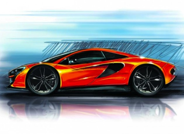 McLaren P13 depiction