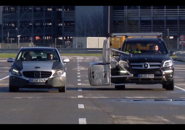 Michael Schumacher 2014 Mercedes-Benz C-Class