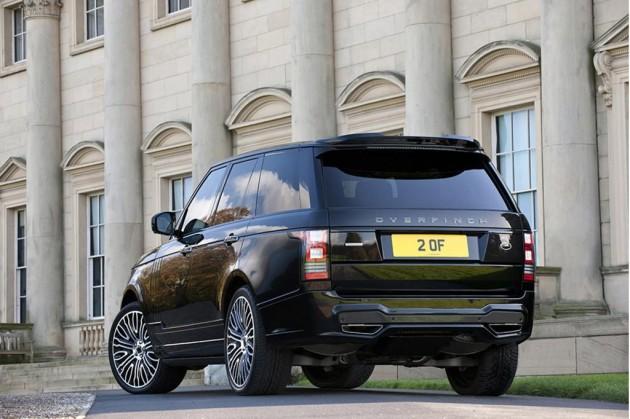 Overfinch 2014 Range Rover-rear