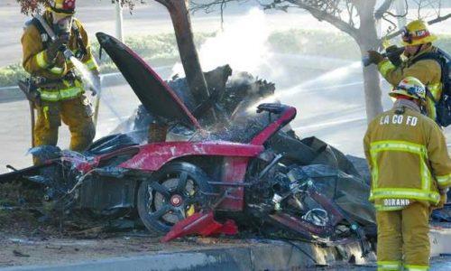 Paul Walker dead in fiery car crash in L.A.