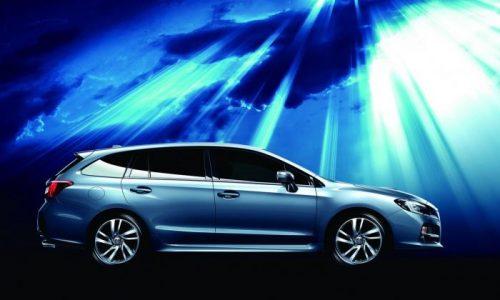 Subaru Levorg production car to debut Jan 1