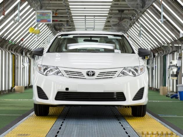 Toyota Camry Australian production
