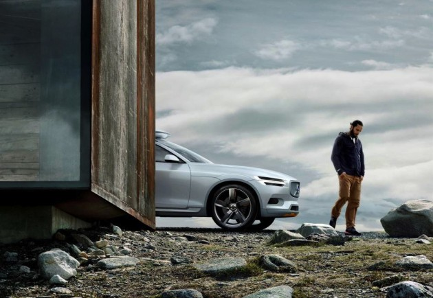 Volvo Concept XC Coupe preview
