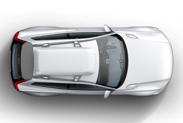 Volvo Concept XC Coupe preview top