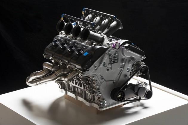 Volvo S60 Polestar V8 Supercar engine-2