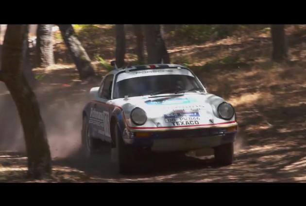 1974 Porsche 911 rally car