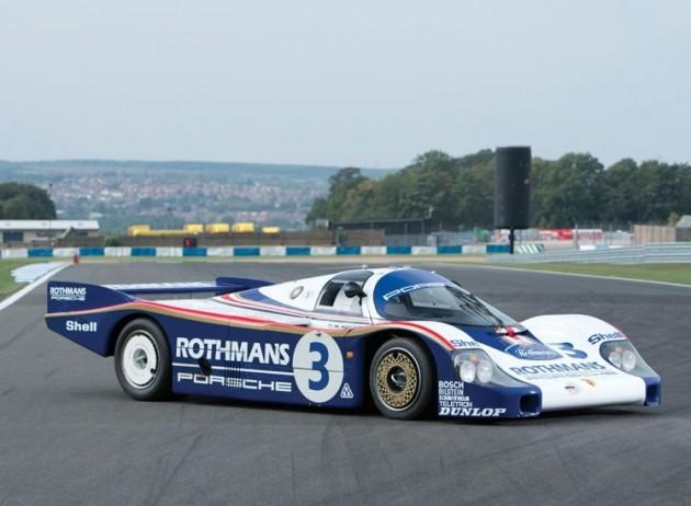 1982 Rothmans Porsche 956 Le Mans car