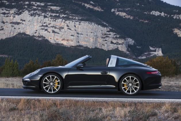 2014 991 Porsche 911 Targa-black