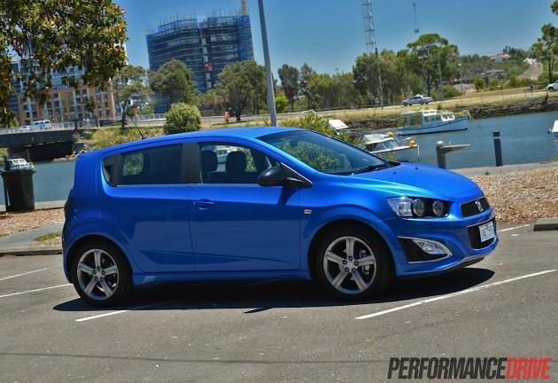 2014 Holden Barina RS-Boracay Blue