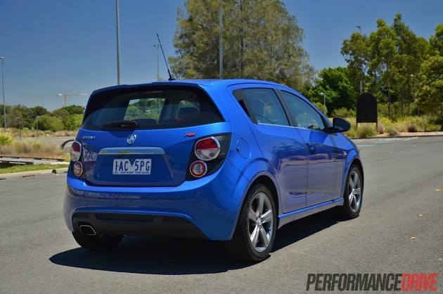 2014 Holden Barina RS rear