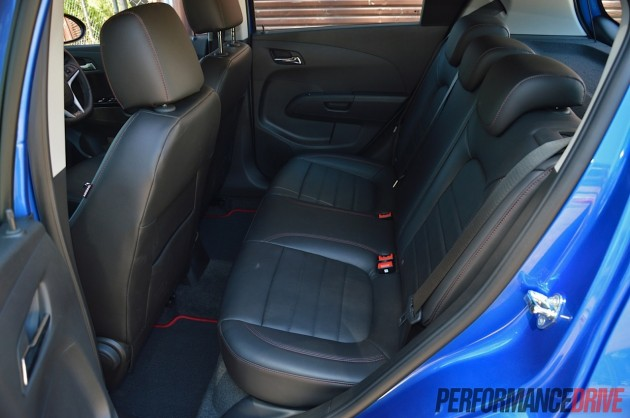 2014 Holden Barina RS rear seats