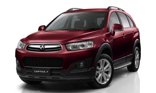 2014 Holden Captiva prices slashed by up to $2500